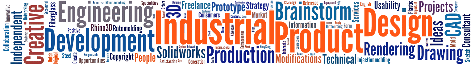 Industrial Product Design Services word cloud